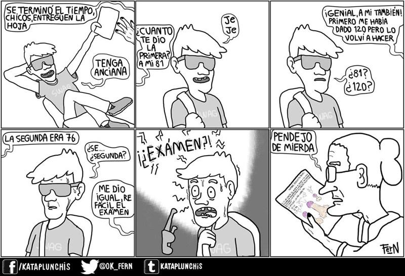 entraga examen