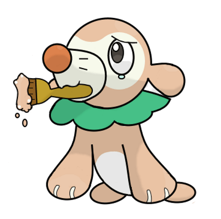 rowlet crossover Pokémon popplio funny - 8800189952