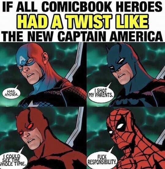 marvel,deadpool,comics,captain america,superheroes,funny