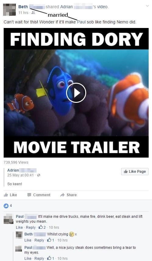 Real Men Watch Pixar Movies