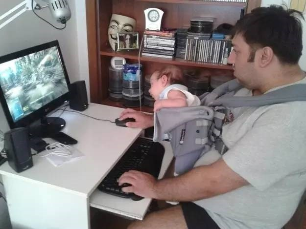 Babies,anonymous,parenting,video games