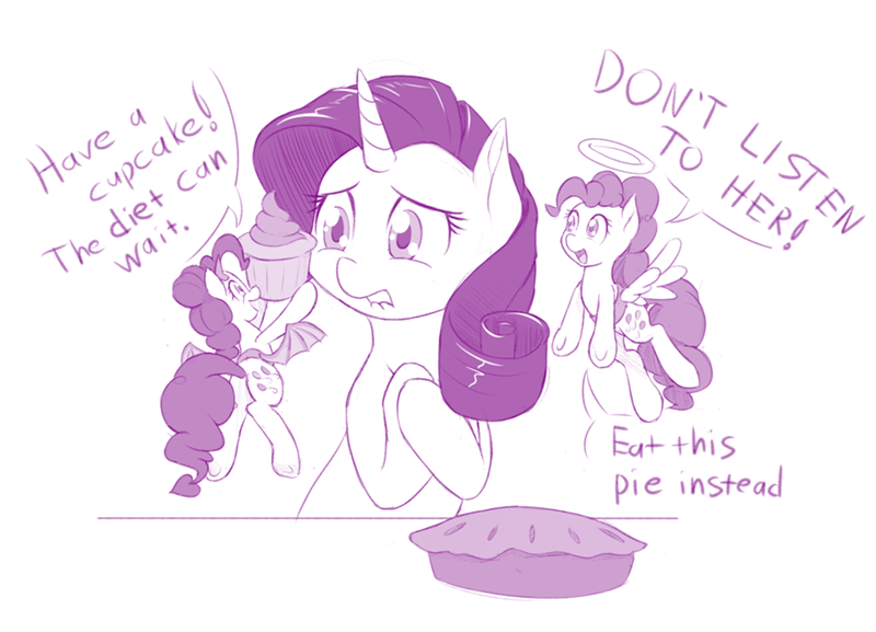 the saddle row review,pinkie pie,rarity