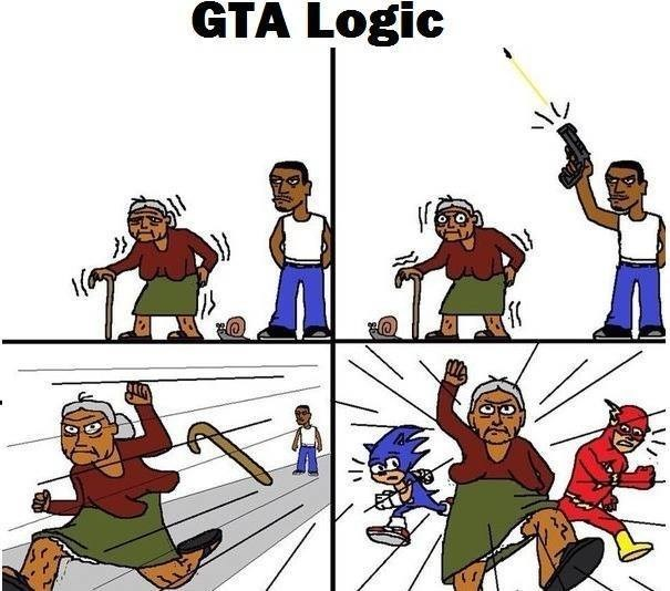 Grand Theft Auto video games Rockstar Games web comics