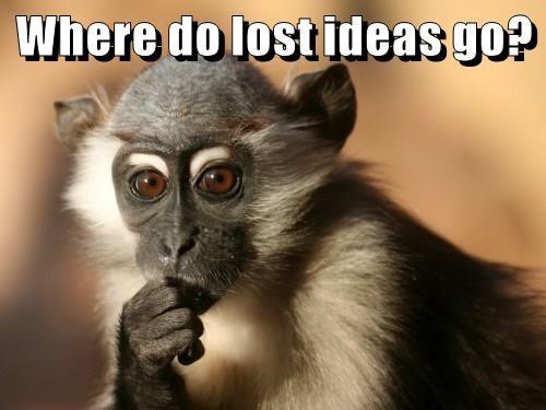 Where do lost ideas go?