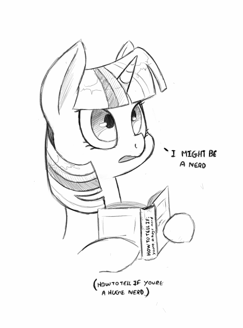 twilight sparkle,nerd