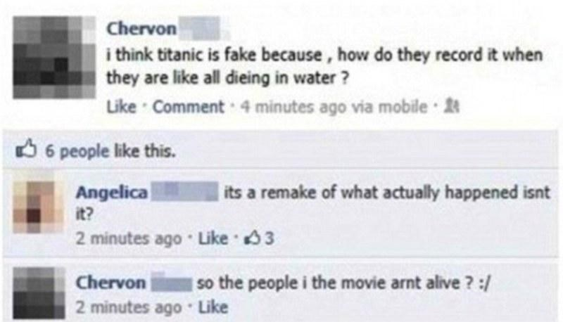 titanic failbook facebook - 8800916480