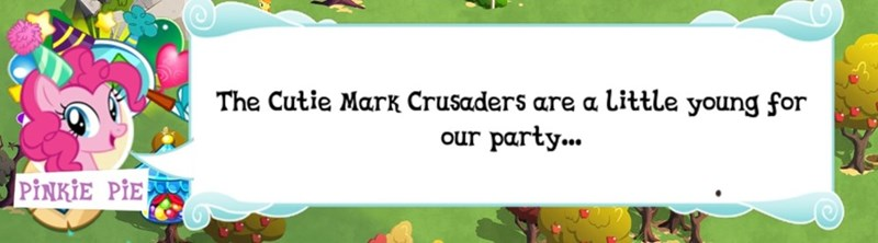 mobile games pinkie pie cutie mark crusaders that sounds naughty