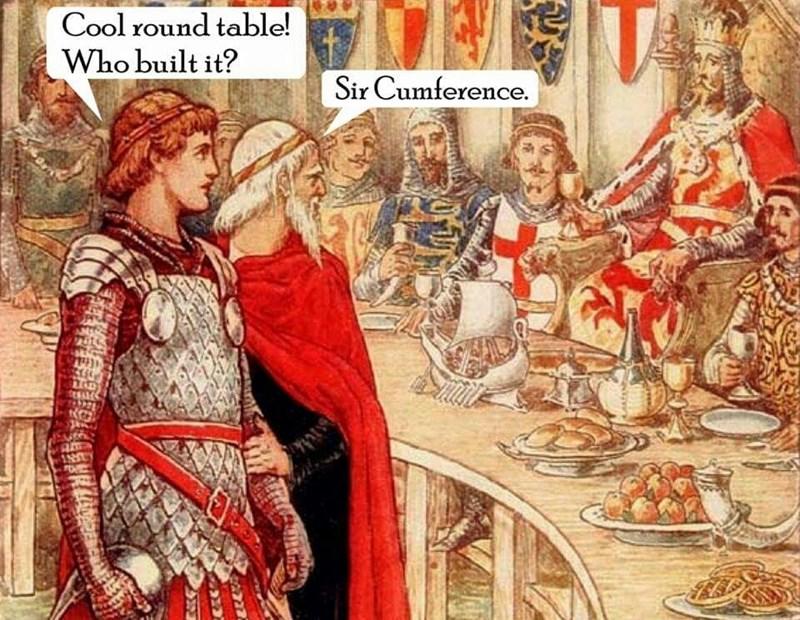 image puns history Open Mic Knight