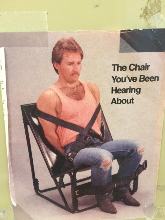 image chair advertisement Ummm Who's Been Talking About It?