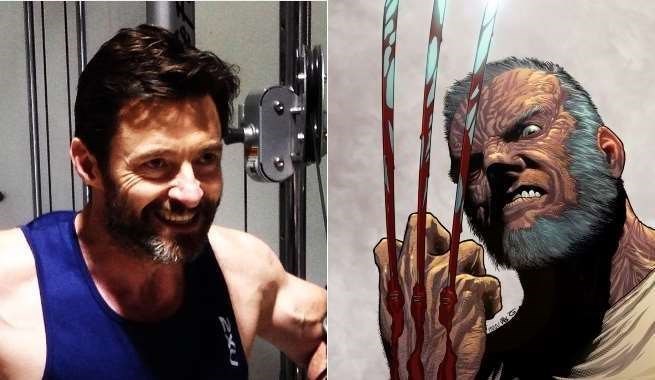 Remarkable These Photos Of Hugh Jackman Sporting The Gray And Grizzly Beard Schematic Wiring Diagrams Phreekkolirunnerswayorg