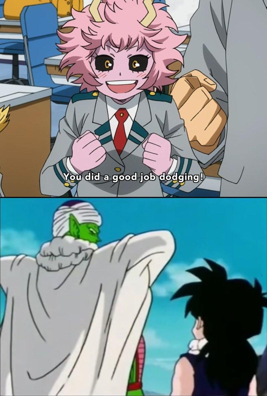 piccolo,gohan,dragonball z,manga,funny