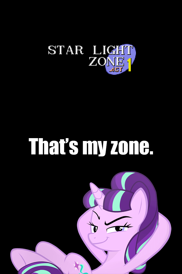 starlight glimmer sonic the hedgehog that's my pony - 8801556480