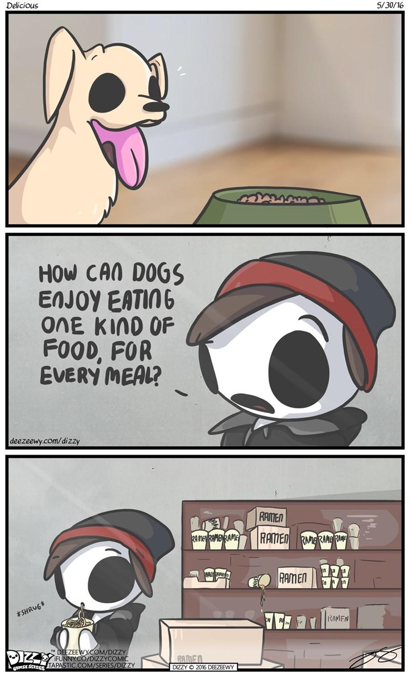 web-comics-dog-eating-food-guy-eating-ramen-funny