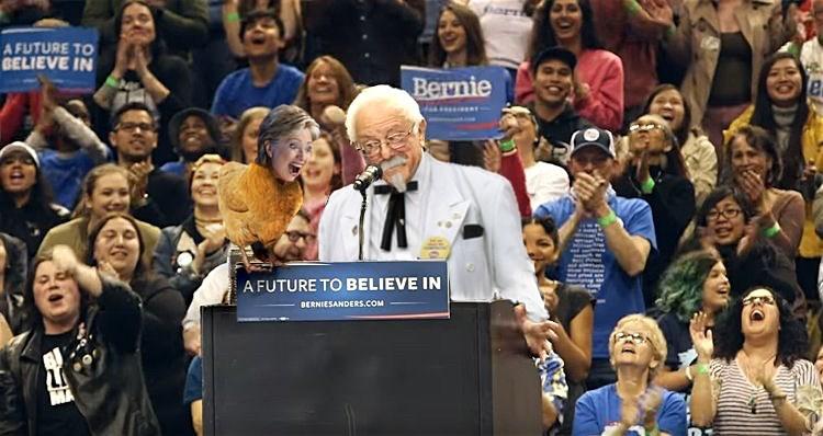 bernie sanders Hillary Clinton Democrat - 8801786112