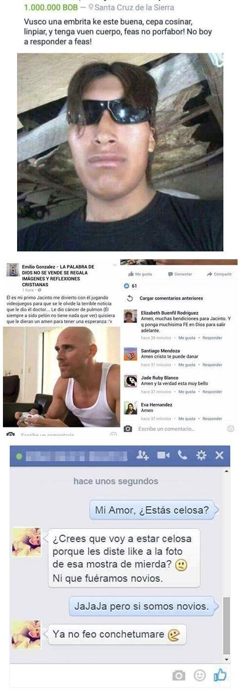 mensajes en facebook