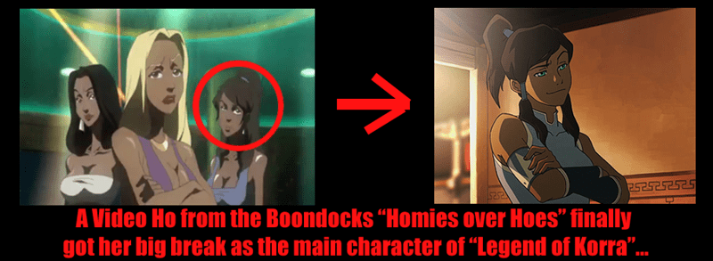 cartoons The Legend of Korra boondocks funny - 8802264064