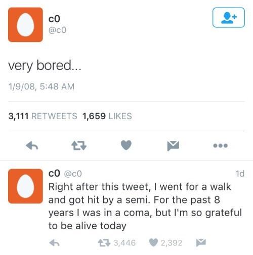 twitter coma boredom - 8802379520