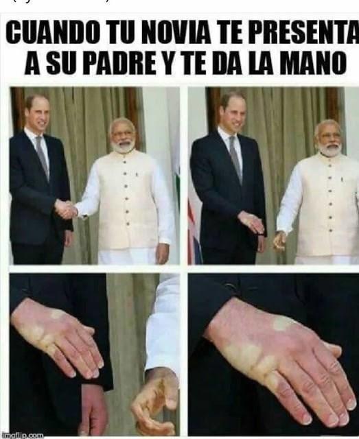 te da la mano