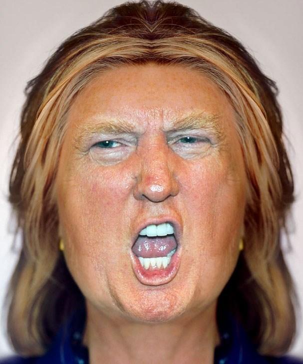 donald trump Hillary Clinton Democrat republican - 8802430976