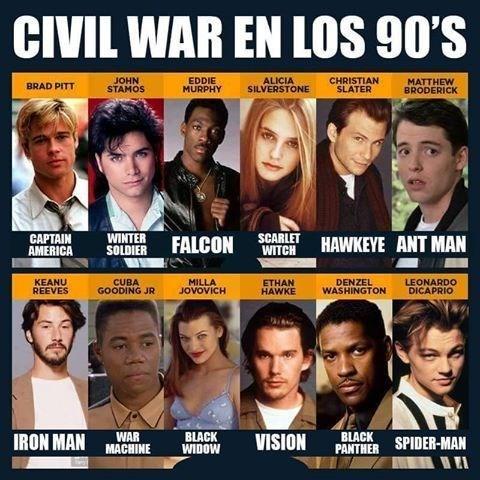 civil war en 90