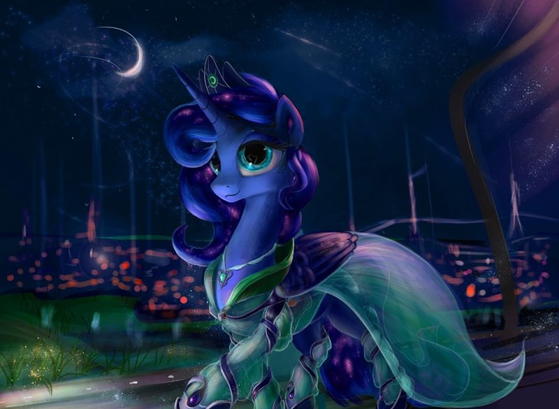 fancy princess luna - 8802583296