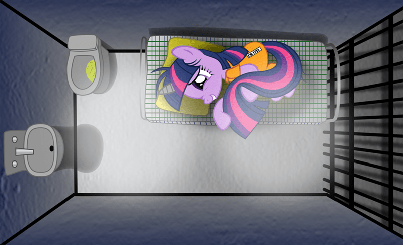 twilight sparkle,prison