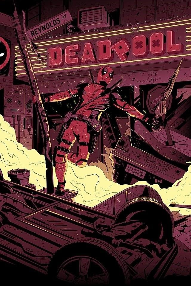 marvel deadpool wade wilson superheroes web comics - 8802743040