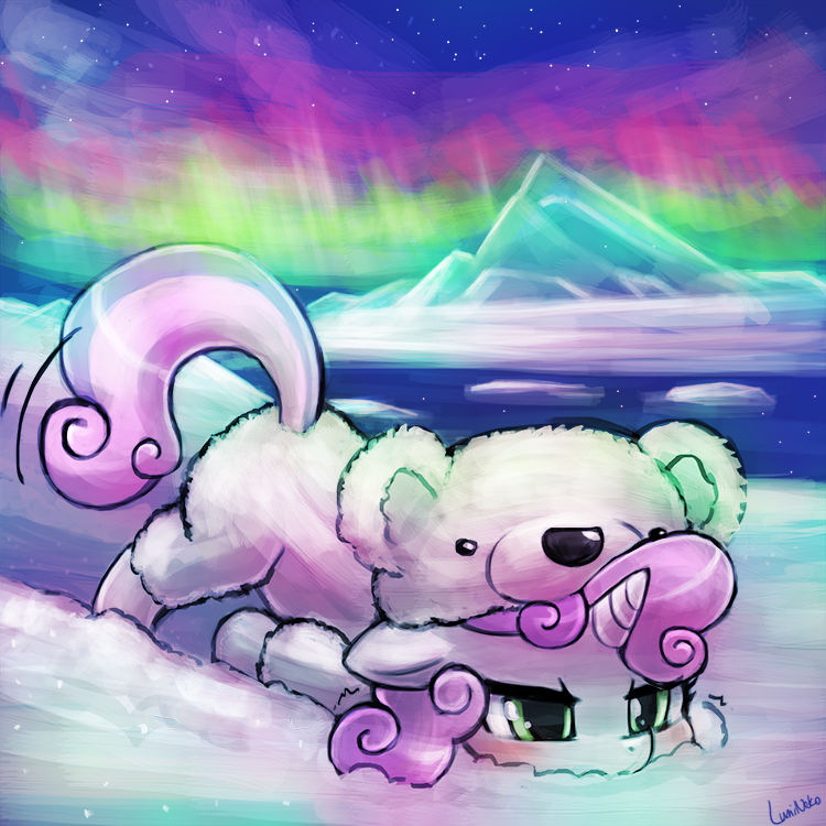 polar bear,Sweetie Belle