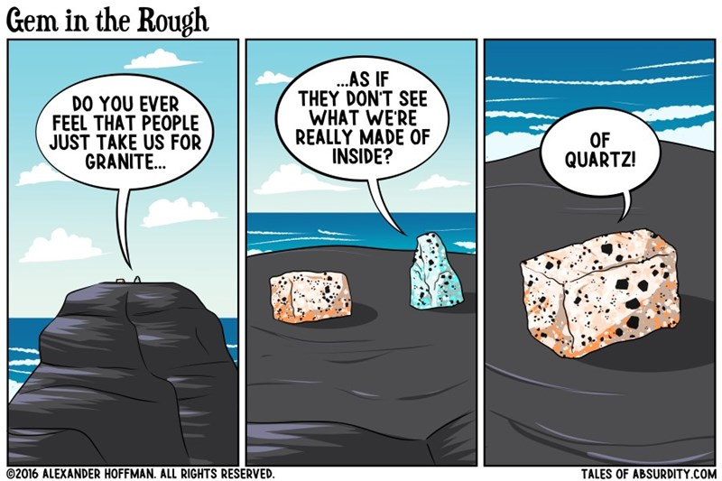 rocks,funny,wordplay,web comics