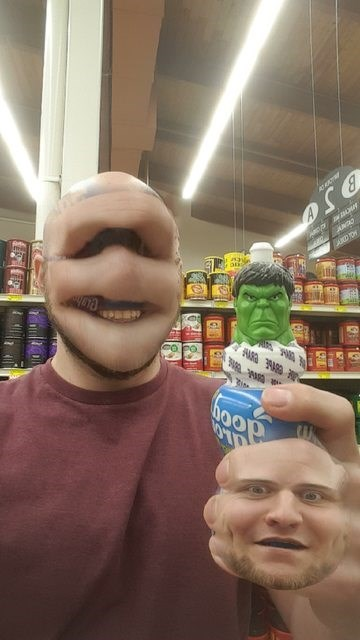face swap nightmare fuel hulk You Wouldn't Like Me When I'm Face Swapped
