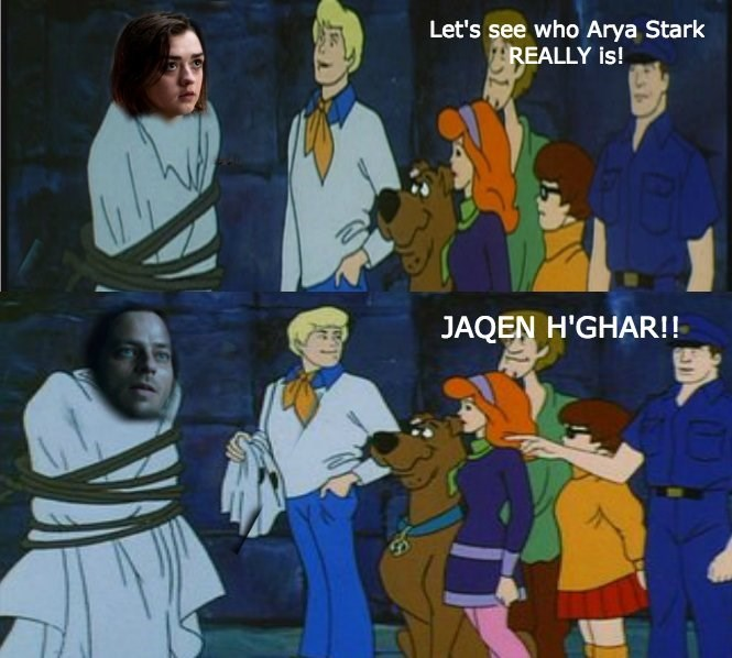 lets see who arya stark really is