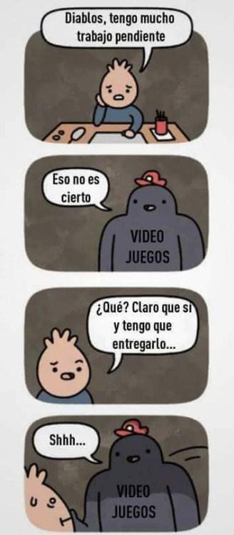 culpa de los videojuegos