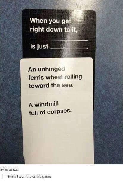 humor games Death morbid