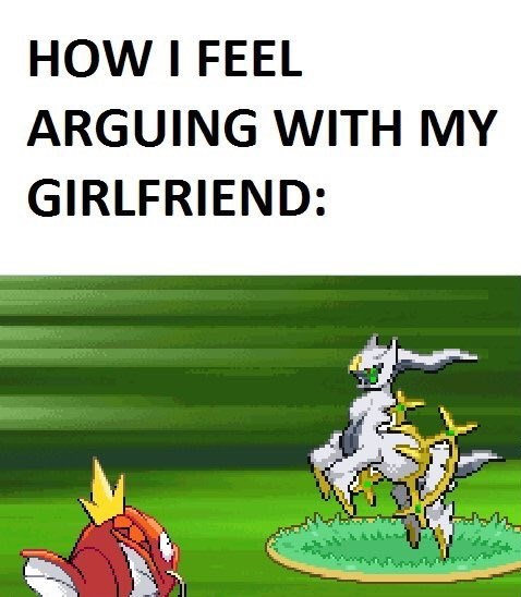 Pokémon relationships argument dating