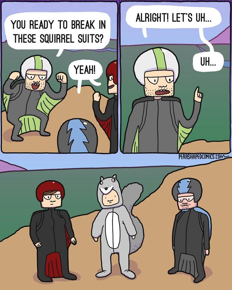 web-comics-friends-go-squirrel-suit-diving-fail-moment