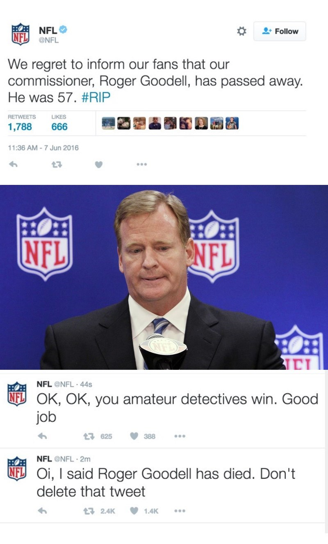twitter nfl hacked social media