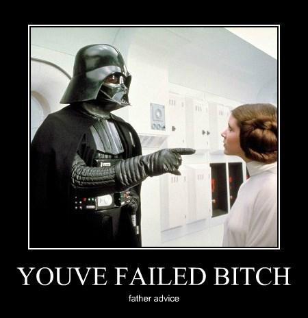 YOUVE FAILED BITCH