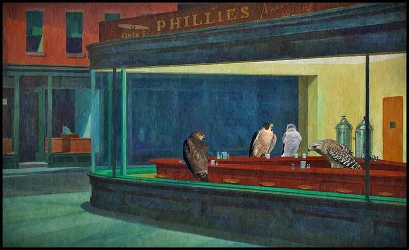 "LOL ""Night Hawks"" (Hopper)"