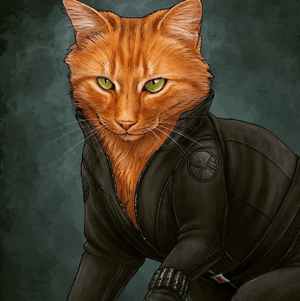 Artist Reimagines Some of Our Favorite Avengers as Cats, and These Guys Deserve Their Own Movie