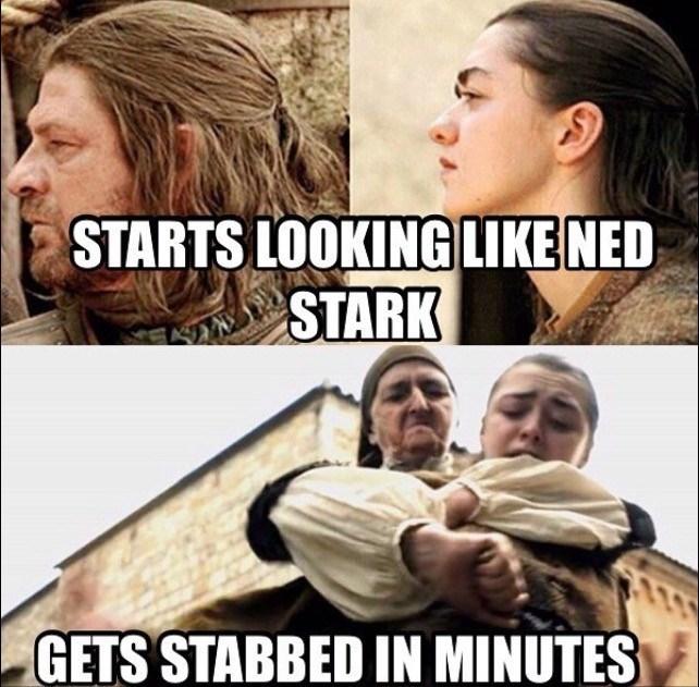 you never go full ned stark