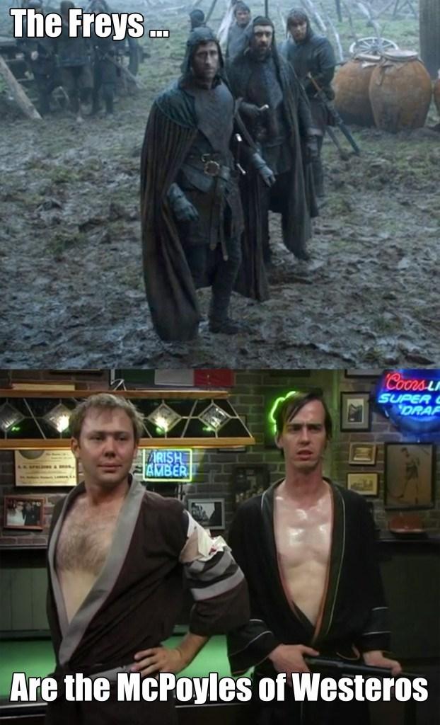 freys are mcpoyles of westeros