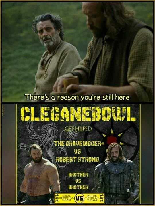 cleganebowl get hype