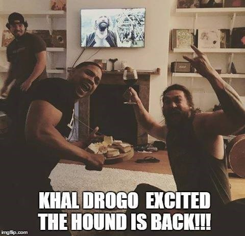 khal drogo is all of us watching game of thrones