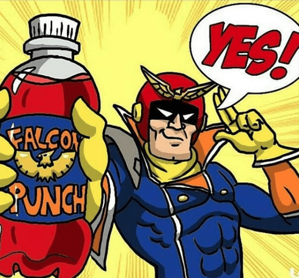 captain-falcon-punch-super-mario-bros