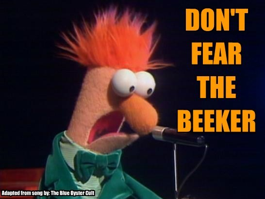 don t fear the beeker cheezburger funny memes funny pictures
