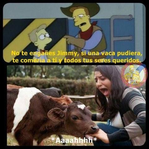 vaca te come