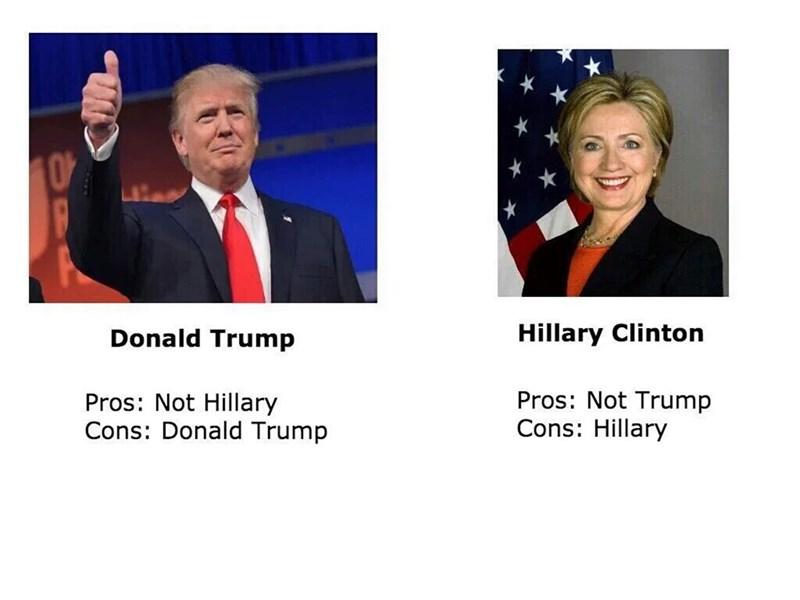 donald trump Hillary Clinton Democrat republican - 8804222464