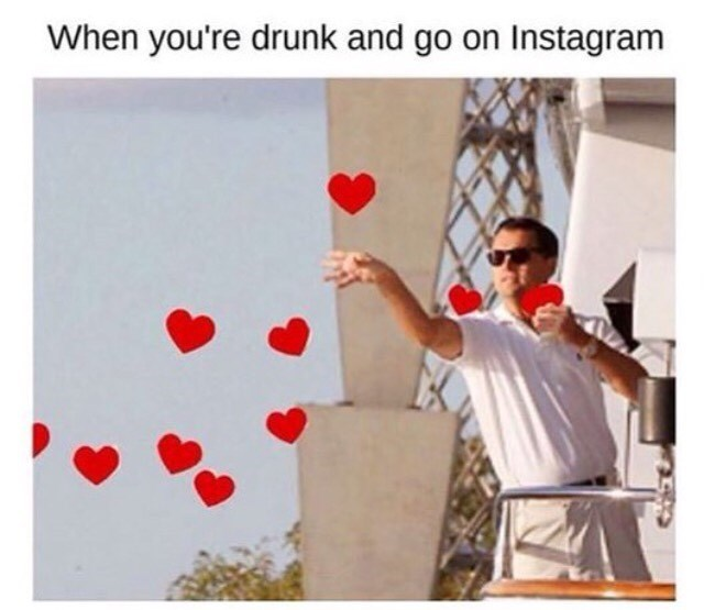drunk,instagram,social media