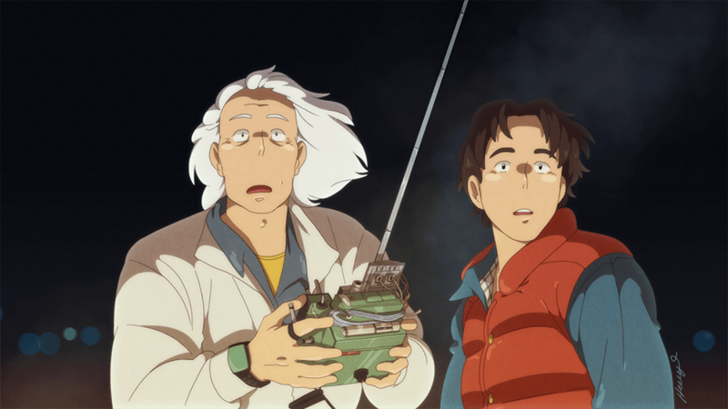 miyazaki back to the future cartoons - 8804445440