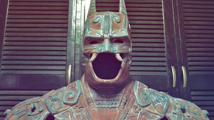 art DC sculpture mayans superheroes batman - 8804617472